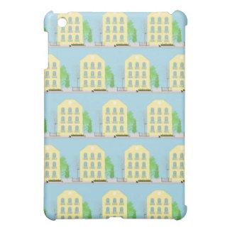 Yellow houses iPad mini cases