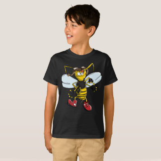Yellow Humble Humblebee Kids T-Shirt