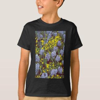 yellow Hyacinths 'Bismark' interplanted with Viola T-Shirt