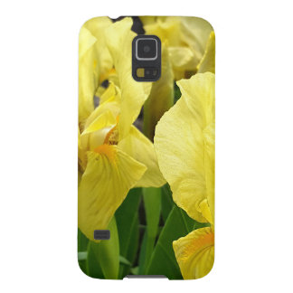 Yellow Iris flowers Cases For Galaxy S5