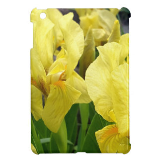 Yellow Iris flowers Cover For The iPad Mini