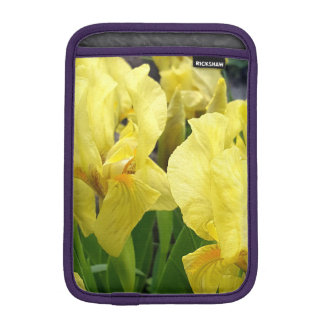 Yellow Iris flowers iPad Mini Sleeve