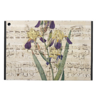 yellow iris music iPad air case