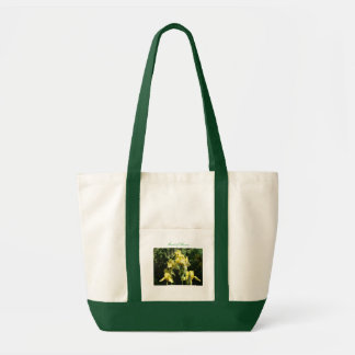 Yellow Irises Maid of Honor Impulse Tote