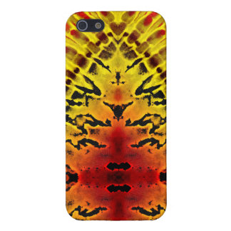 Yellow Jacket Abstract iPhone 5 Case