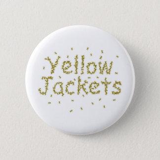 Yellow Jackets 2 Inch Round Button