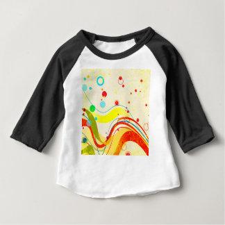 Yellow Jazz Poster Baby T-Shirt