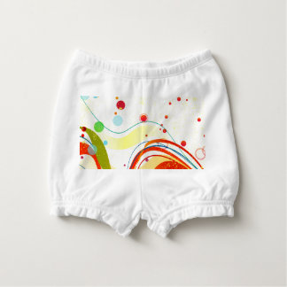 Yellow Jazz Poster Diaper Cover