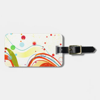 Yellow Jazz Poster Luggage Tag
