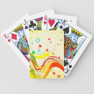 Yellow Jazz Poster Poker Deck