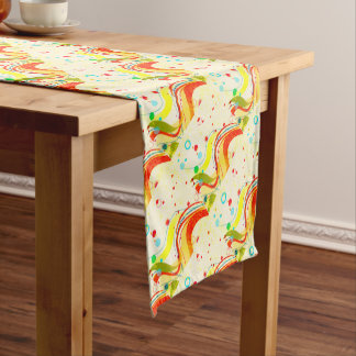 Yellow Jazz Poster Short Table Runner