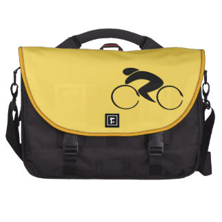 Yellow Jersey Cycling Commuter Laptop Computer Bag