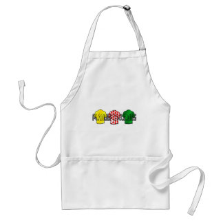 Yellow Jersey Green Jersey King of the mountains Standard Apron