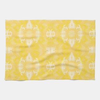 yellow kitchen towel