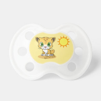 Yellow Kitten Baby Pacifier