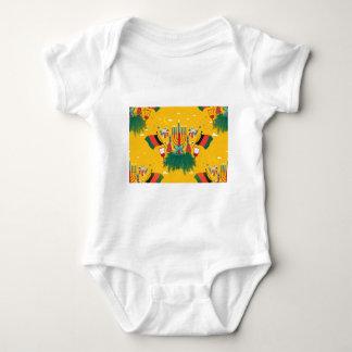 yellow Kwanzaa Baby Bodysuit