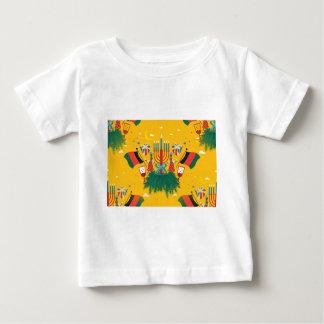 yellow Kwanzaa Baby T-Shirt