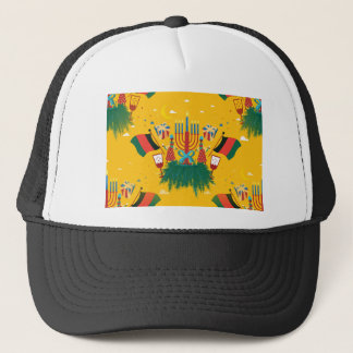 yellow Kwanzaa Trucker Hat
