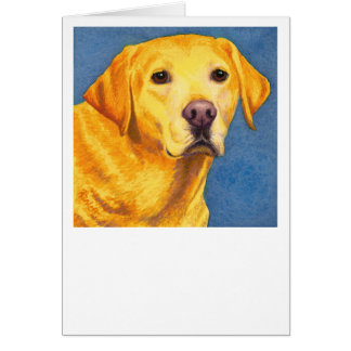 """Yellow Lab Card - """"Mixsy"""""""