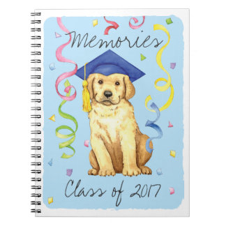 Yellow Lab Graduate Notebooks