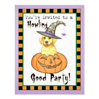 Yellow Lab Halloween Announcement