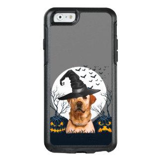 Yellow Lab Halloween Pumpkin Patch OtterBox iPhone 6/6s Case