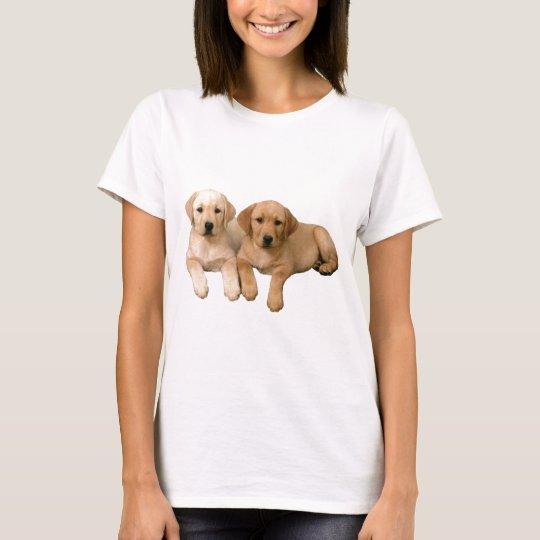 Yellow Lab puppies T-Shirt