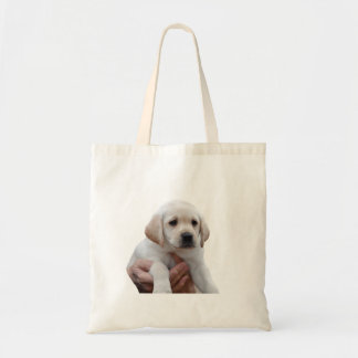 Yellow Lab Puppy In My Arms Tote Bag