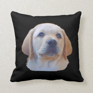 Yellow Lab Puppy Pillow