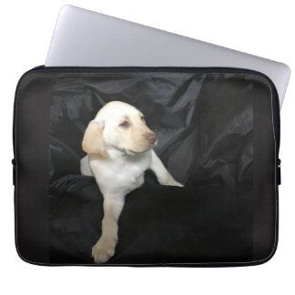 Yellow Lab Puppy Sadie Laptop Sleeve