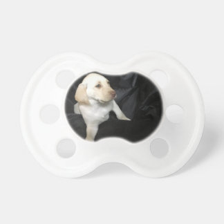 Yellow Lab Puppy Sadie Pacifier