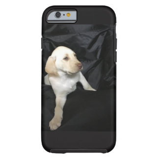 yellow lab puppy tough iPhone 6 case