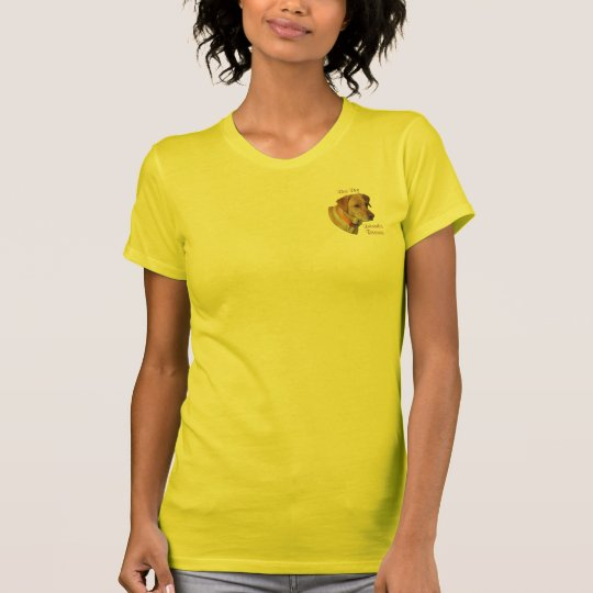 Yellow Labrador Face T-Shirt