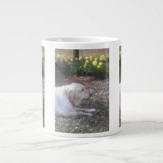 Yellow Labrador Giant Coffee Mug