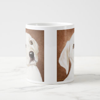 Yellow Labrador Puppy Giant Coffee Mug