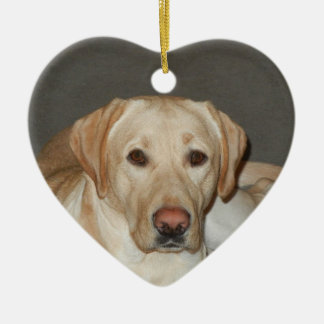 Yellow Labrador Retriever Christmas Ornament
