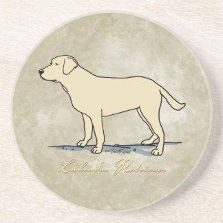 Yellow Labrador Retriever Coaster