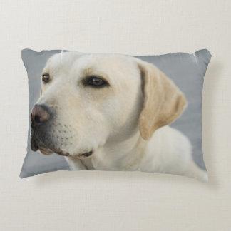 Yellow Labrador Retriever Decorative Pillow