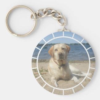 Yellow Labrador Retriever Keychain