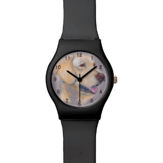 Yellow Labrador Retriever Portrait Watch