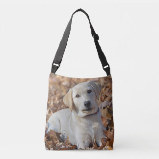 Yellow Labrador Retriever Puppy Crossbody Bag