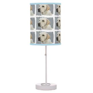 Yellow Labrador Retriever Table Lamp