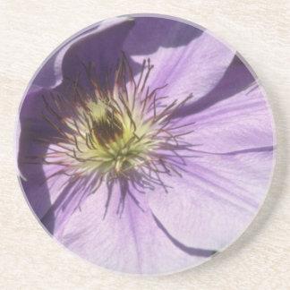 Yellow Lavender shadows flowers Coaster
