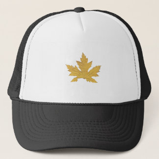 Yellow Leaf Trucker Hat