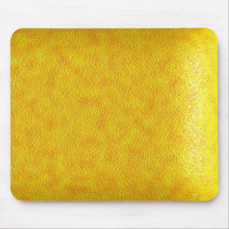 Yellow Leather Mouse Pad