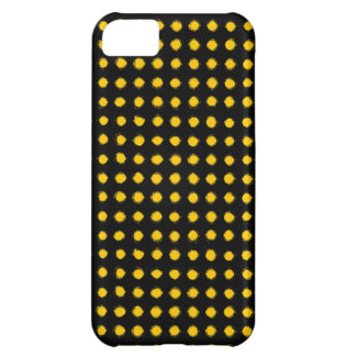 Yellow Led light iPhone 5C Cases