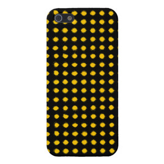 Yellow Led light iPhone 5/5S Covers