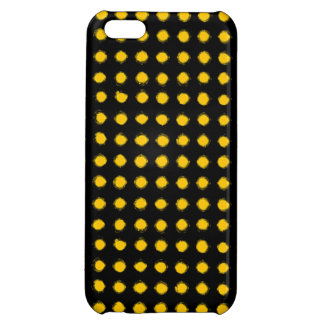 Yellow Led light iPhone 5C Covers