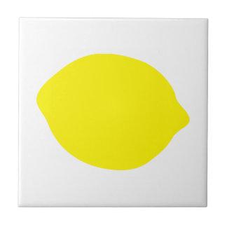 Yellow lemon tile
