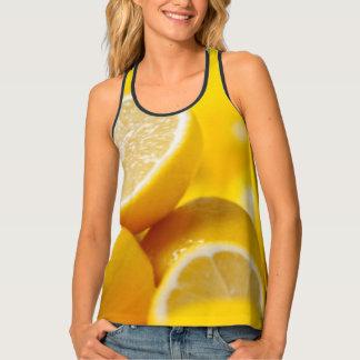 Yellow Lemons Tank Top